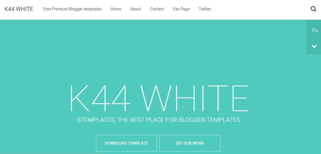 k44 white blogger templates