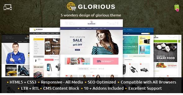 Glorious - Prestashop Responsive Theme