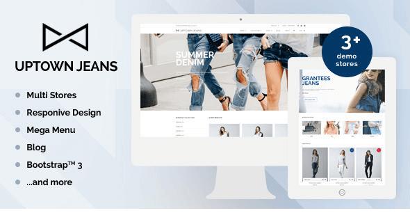 Uptown Jeans v1.2 - Shopify Multi-Purpose Theme