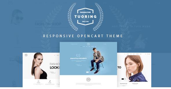 Tuoring - Multipurpose Responsive Opencart Theme