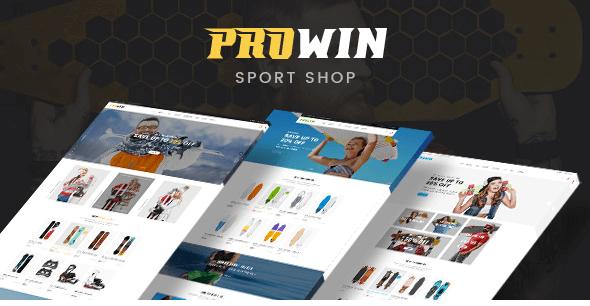 Prowin v1.0 - Sport Responsive Prestashop Theme