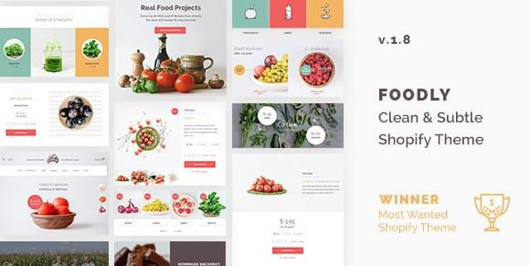 Foodly — One-Stop Food Shopify Theme