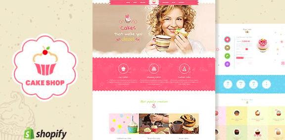 cake shop shopify theme