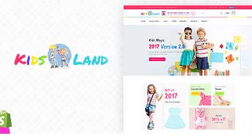 Kids Store - Kids Clothing, Fashion Shopify Theme