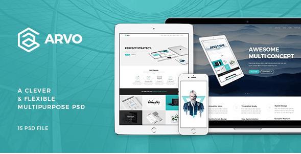 Arvo - A Clever & Flexible Multipurpose PSD