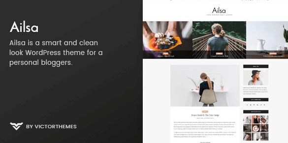 Ailsa v1.2 - Personal Blog WordPress Theme