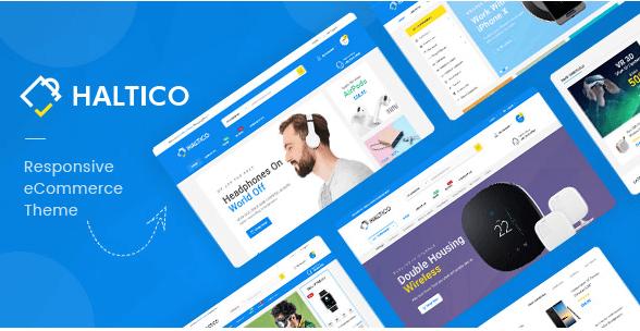 Haltico - Mega Store Prestashop Theme