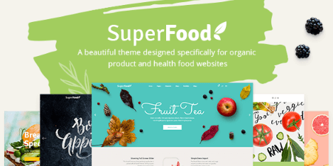 Superfood v1.3.1 - A Vibrant Theme for Organic Food