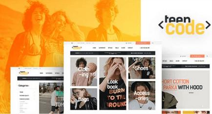 Teencode v1.0 - Shopify Theme