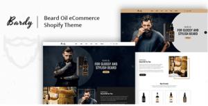 BARDY V1.0 - BEARD OIL SHOPIFY THEME + RTL + DROPPSHIPING