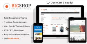 Bigshop v2.7 - Multi-Purpose Responsive OpenCart Theme