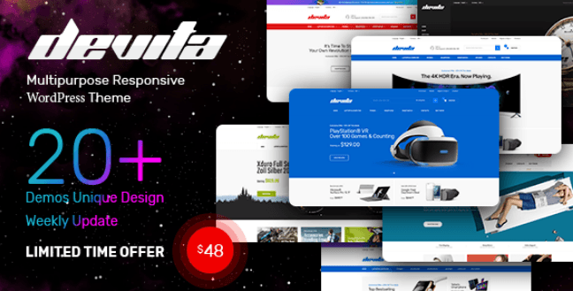 Devita - Multipurpose Responsive Magento Theme 20+ Demos