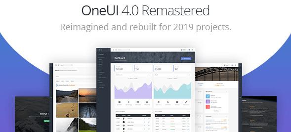 OneUI v4.0 - Bootstrap 4 Admin Dashboard Template & Laravel Starter Kit