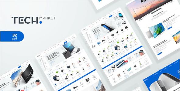 TechMarket v1.1 - Ultimate Shopify Template