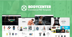 Bodycenter - eCommerce PSD Template
