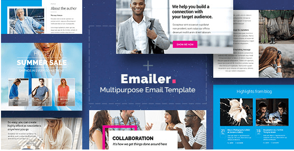 Emailer - Drag & Drop Email Template + Builder Access