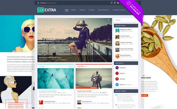 Extra v2.19 - Elegantthemes Premium Wordpress Theme