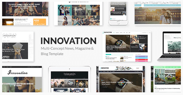 INNOVATION v5.3 - Multi-Concept News, Magazine & Blog Template