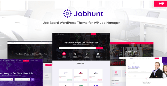 Jobhunt v1.1.7 - Job Board theme for WP Job Manager