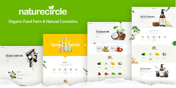 NatureCircle v1.0.1 - Organic Theme for WooCommerce WordPress