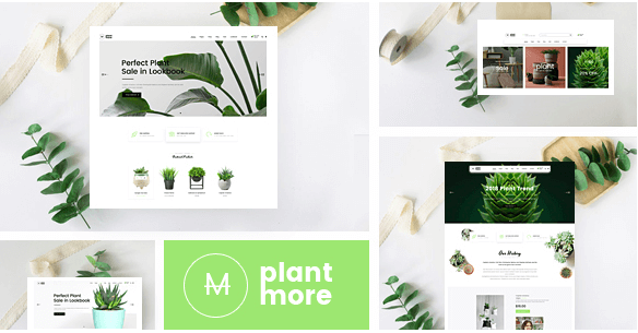 Plantmore v1.1.1 - Responsive Theme for WooCommerce