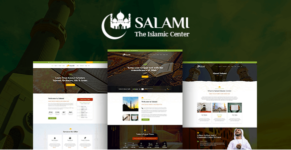 Salami - Islamic Center & Forum PSD Template