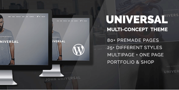 Universal v1.2.4 - Smart Multi-Purpose WordPress Theme