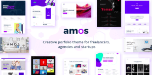 Amos v1.3 – Creative WordPress Theme for Agencies